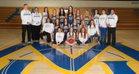 Mountain Home Bombers Girls Varsity Basketball Winter 18-19 team photo.