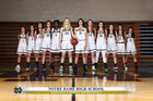 Notre Dame (SO) Knights Girls Varsity Basketball Winter 18-19 team photo.