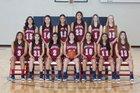 Deming Wildcats Girls Varsity Basketball Winter 18-19 team photo.