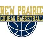 New Prairie Cougars Girls Varsity Basketball Winter 18-19 team photo.
