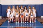 Revere Minutemen Girls Varsity Basketball Winter 18-19 team photo.