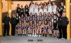 Wahoo Warriors Girls Varsity Basketball Winter 18-19 team photo.
