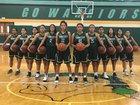 Tuba City Warriors Girls Varsity Basketball Winter 18-19 team photo.