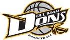 Del Mar Dons Girls Varsity Basketball Winter 18-19 team photo.