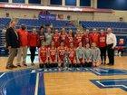 Parkersburg Big Reds Girls Varsity Basketball Winter 18-19 team photo.