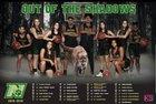 Nease Panthers Girls Varsity Basketball Winter 18-19 team photo.