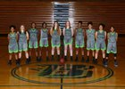 Beamer Titans Girls Varsity Basketball Winter 18-19 team photo.