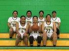 Jemez Valley Warriors Girls Varsity Basketball Winter 18-19 team photo.