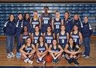 Rogers Rams Girls Varsity Basketball Winter 18-19 team photo.