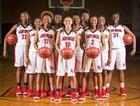 Hoke County Bucks Girls Varsity Basketball Winter 18-19 team photo.