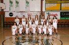 St. Joseph Jayhawks Girls Varsity Basketball Winter 18-19 team photo.