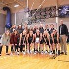 Fleming Wildcats Girls Varsity Basketball Winter 18-19 team photo.