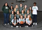 School of the Woods Wildcats Girls Varsity Basketball Winter 18-19 team photo.