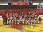 Frankfort Redbirds Girls Varsity Basketball Winter 18-19 team photo.