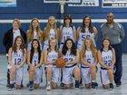 Temple Christian Crusaders Girls Varsity Basketball Winter 18-19 team photo.