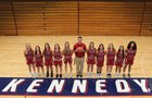 Kennedy Catholic Lancers Girls Varsity Basketball Winter 18-19 team photo.