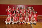 Big Piney Punchers Girls Varsity Basketball Winter 18-19 team photo.