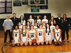 Laurel Gators  Girls Varsity Basketball Winter 18-19 team photo.