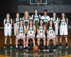 Onate Knights Girls Varsity Basketball Winter 18-19 team photo.