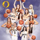 Onsted Wildcats Girls Varsity Basketball Winter 18-19 team photo.