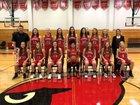 Metamora Redbirds Girls Varsity Basketball Winter 18-19 team photo.
