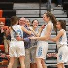 Father Tolton  Girls Varsity Basketball Winter 18-19 team photo.