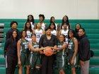 Woodland Wolverines Girls Varsity Basketball Winter 18-19 team photo.
