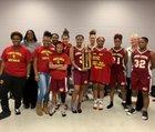 Cross Creek Razorbacks Girls Varsity Basketball Winter 18-19 team photo.