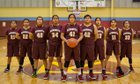 Rehoboth Christian Lynx Girls Varsity Basketball Winter 18-19 team photo.