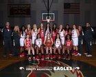 Aurora Christian Eagles Girls Varsity Basketball Winter 18-19 team photo.