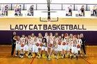 Hot Springs County Bobcats Girls Varsity Basketball Winter 18-19 team photo.
