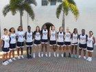 Florida Prep Falcons Girls Varsity Basketball Winter 18-19 team photo.