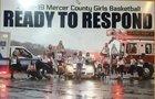 Mercer County Golden Eagles Girls Varsity Basketball Winter 18-19 team photo.