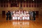 King's Knights Girls Varsity Basketball Winter 18-19 team photo.