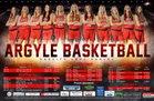 Argyle Eagles Girls Varsity Basketball Winter 18-19 team photo.