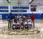Cherry Creek Bruins Girls Varsity Basketball Winter 18-19 team photo.