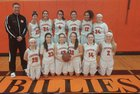 Fredonia Hillbillies Girls Varsity Basketball Winter 18-19 team photo.