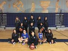 Chula Vista Spartans Girls Varsity Basketball Winter 18-19 team photo.