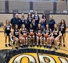 Avon Orioles Girls Varsity Basketball Winter 18-19 team photo.