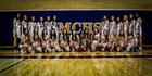 Mountain Crest Mustangs Girls Varsity Basketball Winter 18-19 team photo.