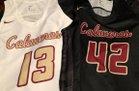 Calaveras  Girls Varsity Basketball Winter 18-19 team photo.