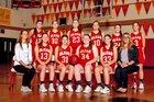 Olean Huskies Girls Varsity Basketball Winter 18-19 team photo.