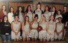 Lake Shore Eagles Girls Varsity Basketball Winter 18-19 team photo.