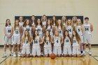 Pottsville Apaches Girls Varsity Basketball Winter 18-19 team photo.