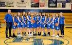 El Dorado Cougars Girls Varsity Basketball Winter 18-19 team photo.