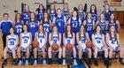 Tipton Blue Devils Girls Varsity Basketball Winter 18-19 team photo.