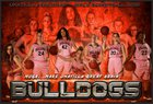 Umatilla Bulldogs Girls Varsity Basketball Winter 18-19 team photo.