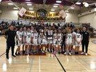 Westmoor Rams Girls Varsity Basketball Winter 18-19 team photo.