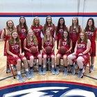 Tupelo Christian Prep Eagles Girls Varsity Basketball Winter 18-19 team photo.