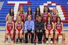 Arcadia Titans Girls Varsity Basketball Winter 18-19 team photo.
